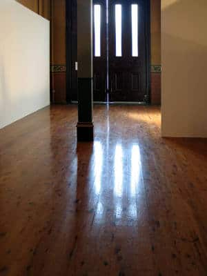 Polished Wood Flooring