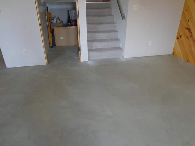 How to get your dirty basement floor sparkling clean for What to clean concrete floors with