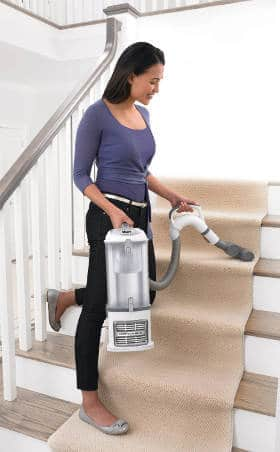 Cleaning Stair Carpet With Shark Navigator