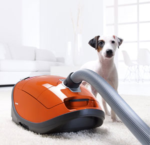 Miele S8380 Cat & Dog Vacuum