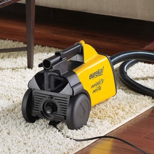Eureka Mighty MIte Vacuum on Carpet and Hardwood