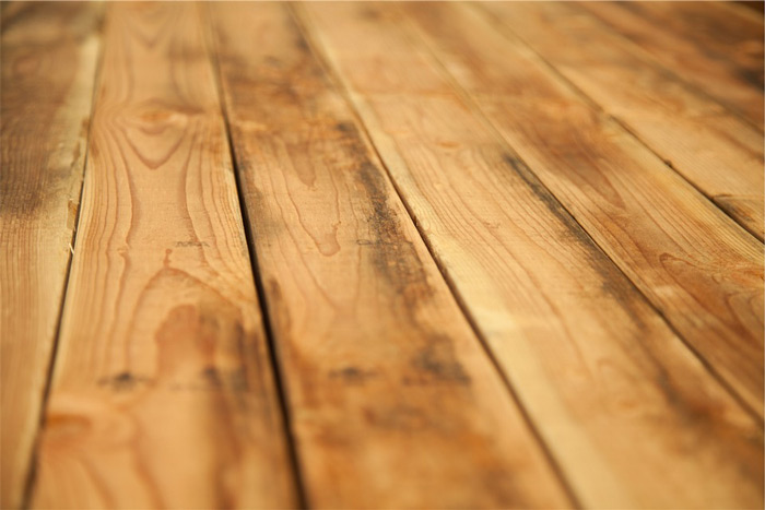 Faded Wood Floor